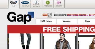 Gap web