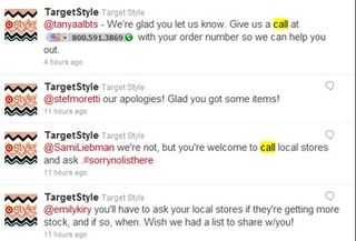 Target-tweets