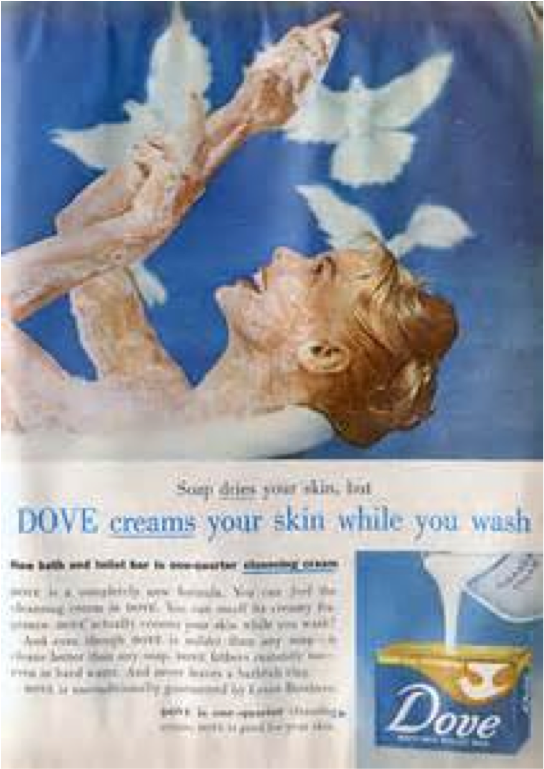 Creams the skin